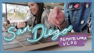 San Diego Remote Work Vlog!