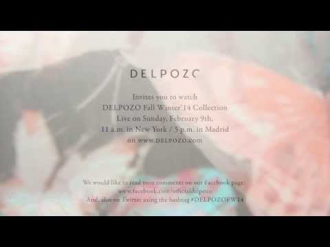 DELPOZO FW14 Fashion Show Invitation
