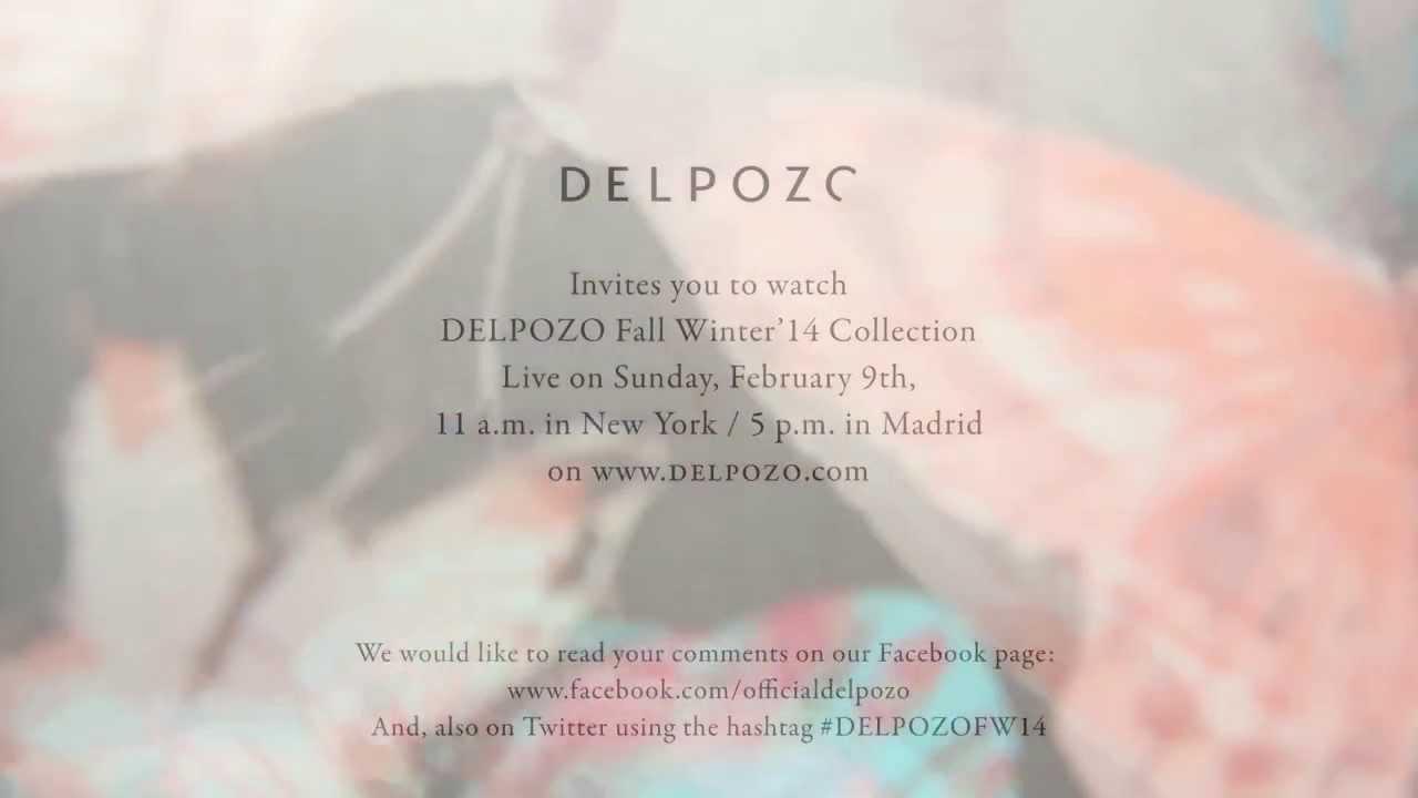 Delpozo Fw14 Fashion Show Invitation Youtube