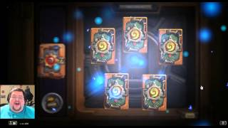 Opening 306 Gnomes vs Goblins Hearthstone Packs