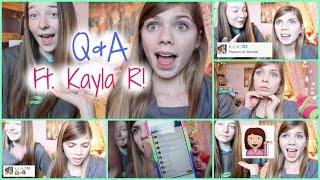 Q&A Ft. Kayla R || Thumbnail