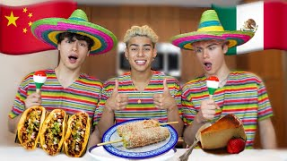 Making My Chinese Friends Try Mexican Food!!