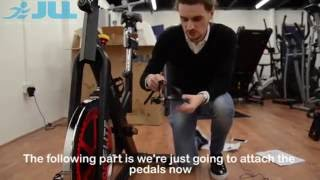 JLL® IC400 Indoor Cycling™ Bike - Unboxing & Assembly (14Mins)