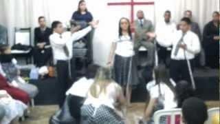 Coreografia Diante da Cruz, Ass. Deus Ebenezer Brasil