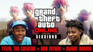 Tyler the Creator, Odd Future & Danny Brown Play GTA Online (GTA Online Sessions)
