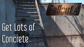 Get Concrete in Fallout 4