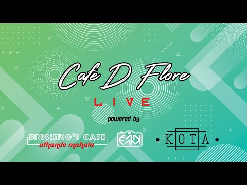 Chillout Music || Deep House DJ Set on Café D'Floré LIVE @ Brushino's Café S1E17