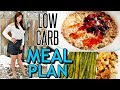 My NEW LOW CARB MEAL PLAN for WEIGHT LOSS (Full Day Of Eating)