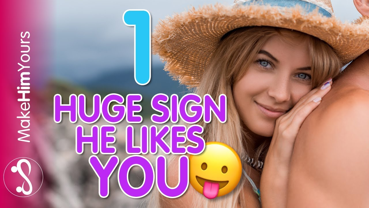 flirting signs he likes you images free images download