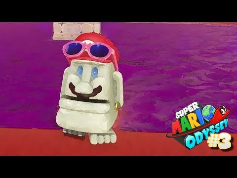 I HAVE FAT LIPS?!! (Super Mario Odyssey)