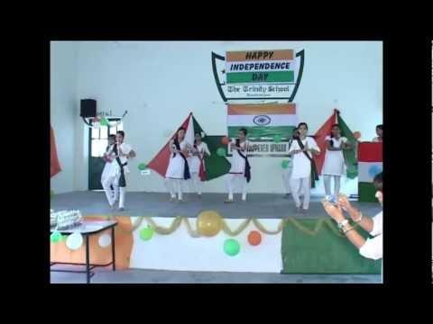 Vande Mataram/Chak De India - Independence Day Celebration at The Trinity School, Asalpur