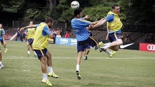 Fc barcelona - second session at the american university