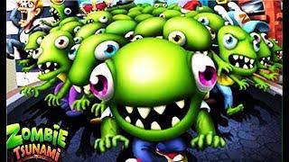 Зомби цунами #1 Мульт Игра  про  зомби ZOMBIE TSUNAMI  #Мобильные игры