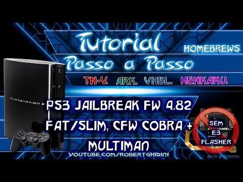 PS3-4.82 JAILBREAK FAT/SLIM + CFW COBRA + MULTIMAN