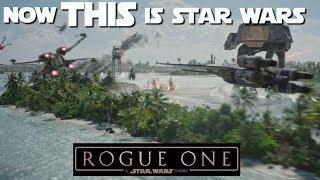 Rogue One: The best Disney Star Wars Film?  (Let's Talk Some Star Wars)