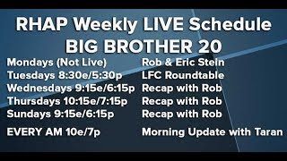 BB20 Tuesday Morning Live Feeds Update | Aug 14
