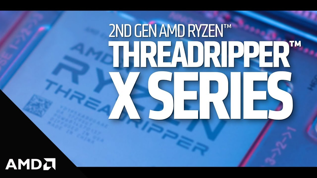 Product information for AMD 2nd Gen 16 Core Ryzen