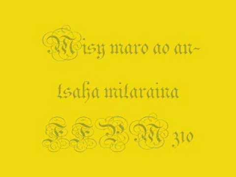 Misy maro ao an-tsaha mitaraina - FFPM 310