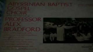 Professor Alex Bradford: Gonna Ride That Glory Trian