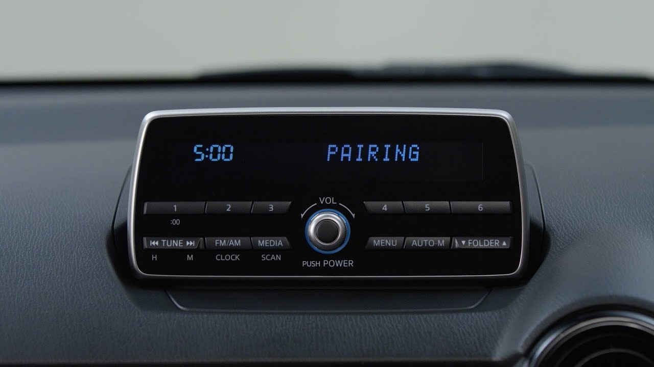 How To Connect a Bluetooth Device via Mazda Audio System