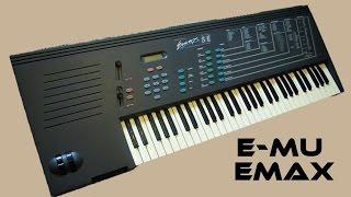 E-mu Emax Sampler - sound library (1986) Depeche Mode and more