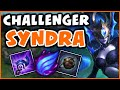CHALLENGER SHOWS YOU HOW TO SYNDRA   15 MIN FF - League of Legends