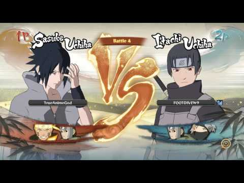 Naruto Storm 4 Player Match: Finally Found A Challenge