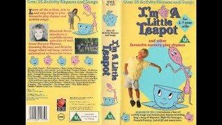 I'm a Little Teapot 1992 UK VHS
