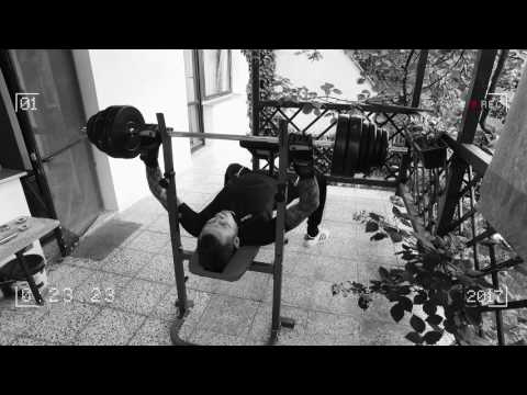 Personal training - personal record of a beginner (bench - press)