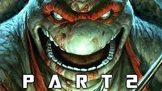 Teenage Mutant Ninja Turtles Mutants in Manhattan Walkthrough Gameplay Part 2 - Slash (TMNT)