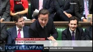 """Calm down, dear!"" - David Cameron is Michael Winner! (Prime Minister"