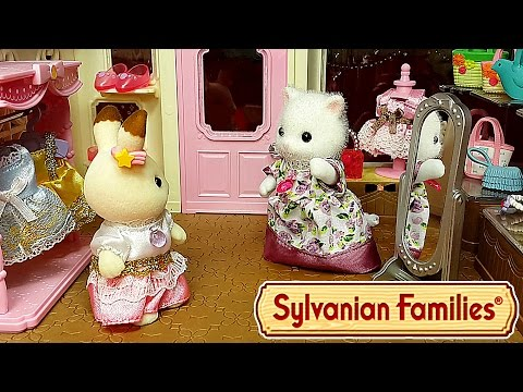 ❤ МОДНЫЙ БУТИК sylvanian families ❤ ВСЕ СЕРИИ ПОДРЯД