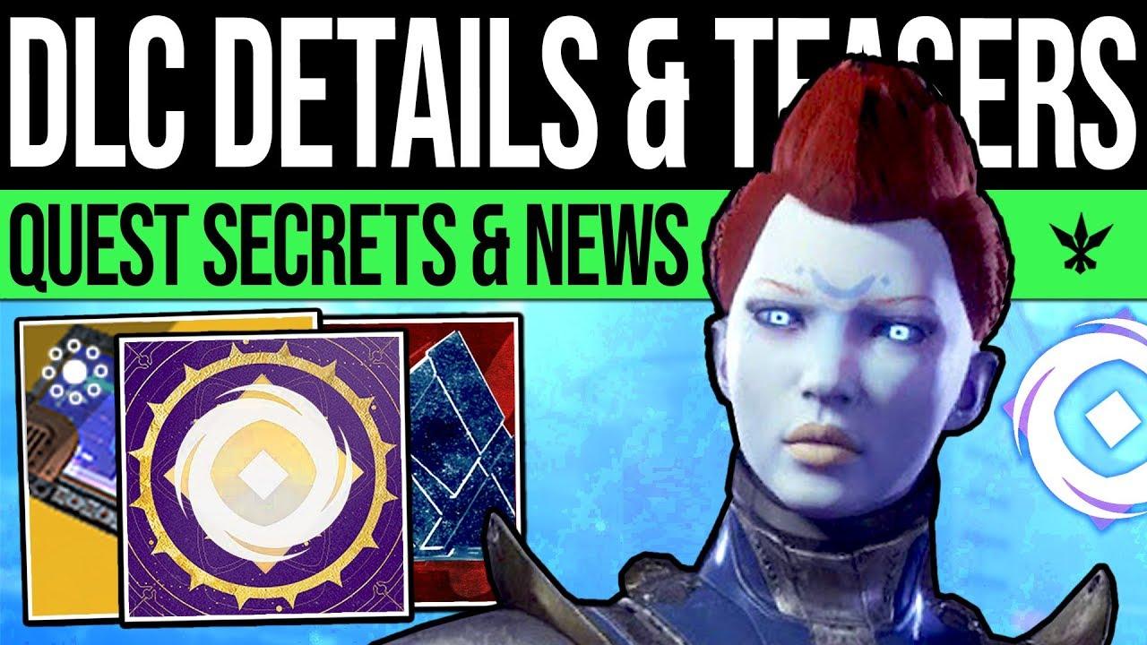 Destiny 2 | QUEST SECRETS & PYRAMIDS TEASE! New Enemy, Opulence DLC, Roadmaps, Rewards & Destiny 3! thumbnail