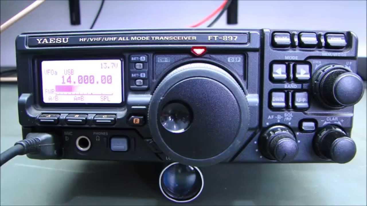 ALPHA TELECOM: YAESU FT-897D SEM POTÊNCIA EM SSB e AM