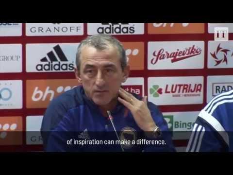 Bosnia and Herzegovina v Rep. of Ireland - Pre Match Presser Short - Mehmed Baždarević (12/11/15)