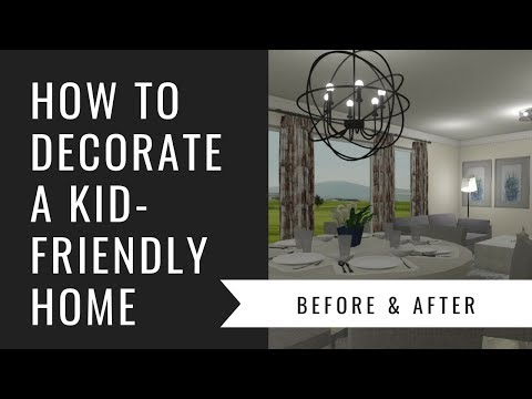 Arianne Bellizaire Interiors Design Presentation: How To Decorate A Kid Friendly Space