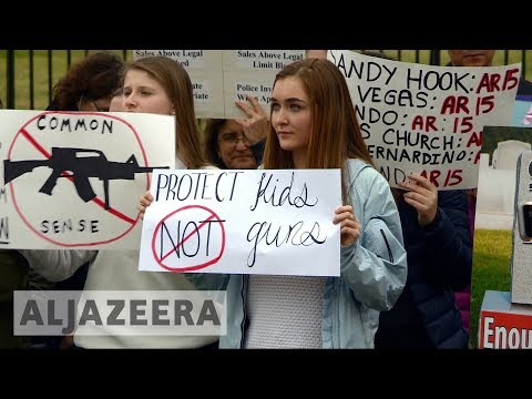 🇺🇸 US protesters rally outside White House for gun control