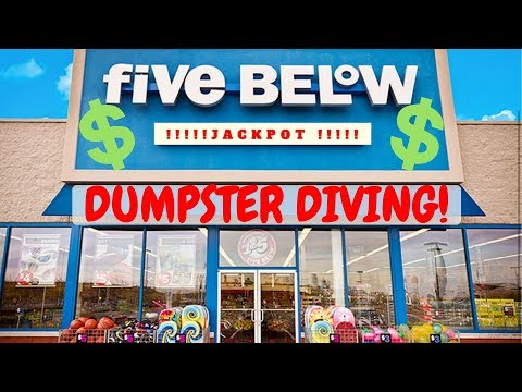 Another Jackpot ! Dumpster Diving At Five Below - Dumpster Dive Night #22