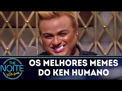 Danilo mostra os memes do Diguinho, o Ken Humano | The Noite (15/03/18)