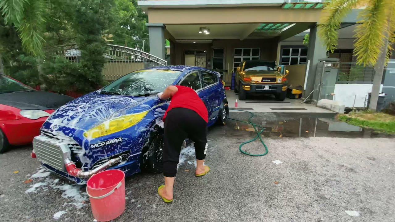 Download Along sr marah camera man🔥🔥 basuh kereta shampoo rm3k