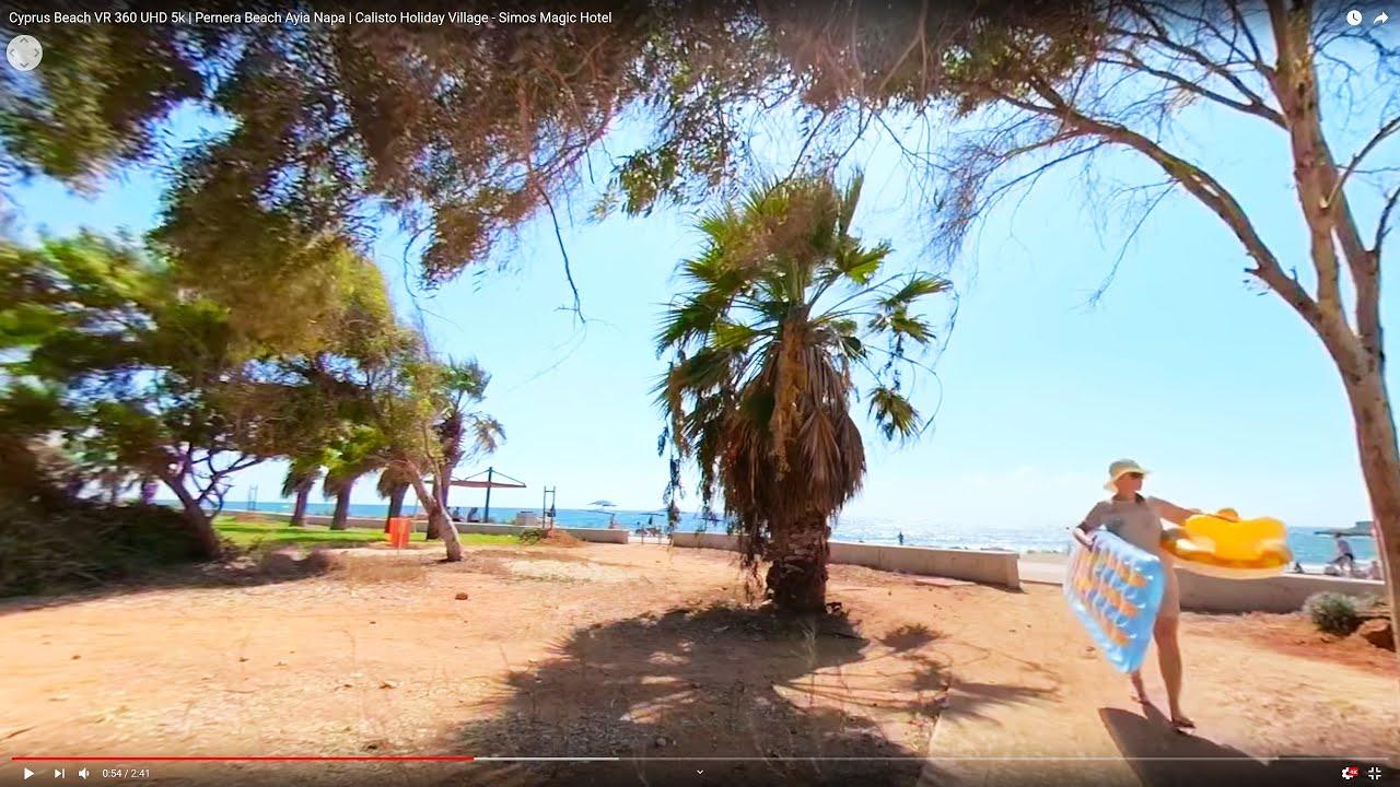 Cyprus Beach Vr 360 Uhd 5k Pernera Beach Ayia Napa Calisto