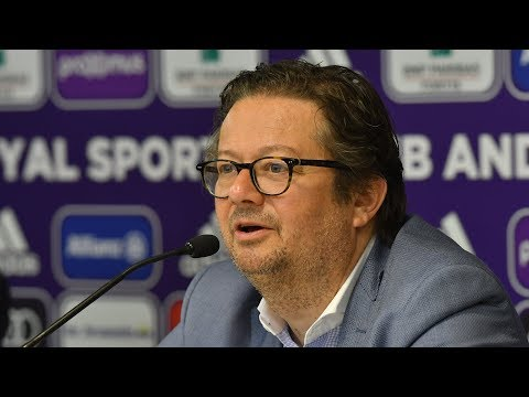Press conference Marc Coucke about his plans for the future!