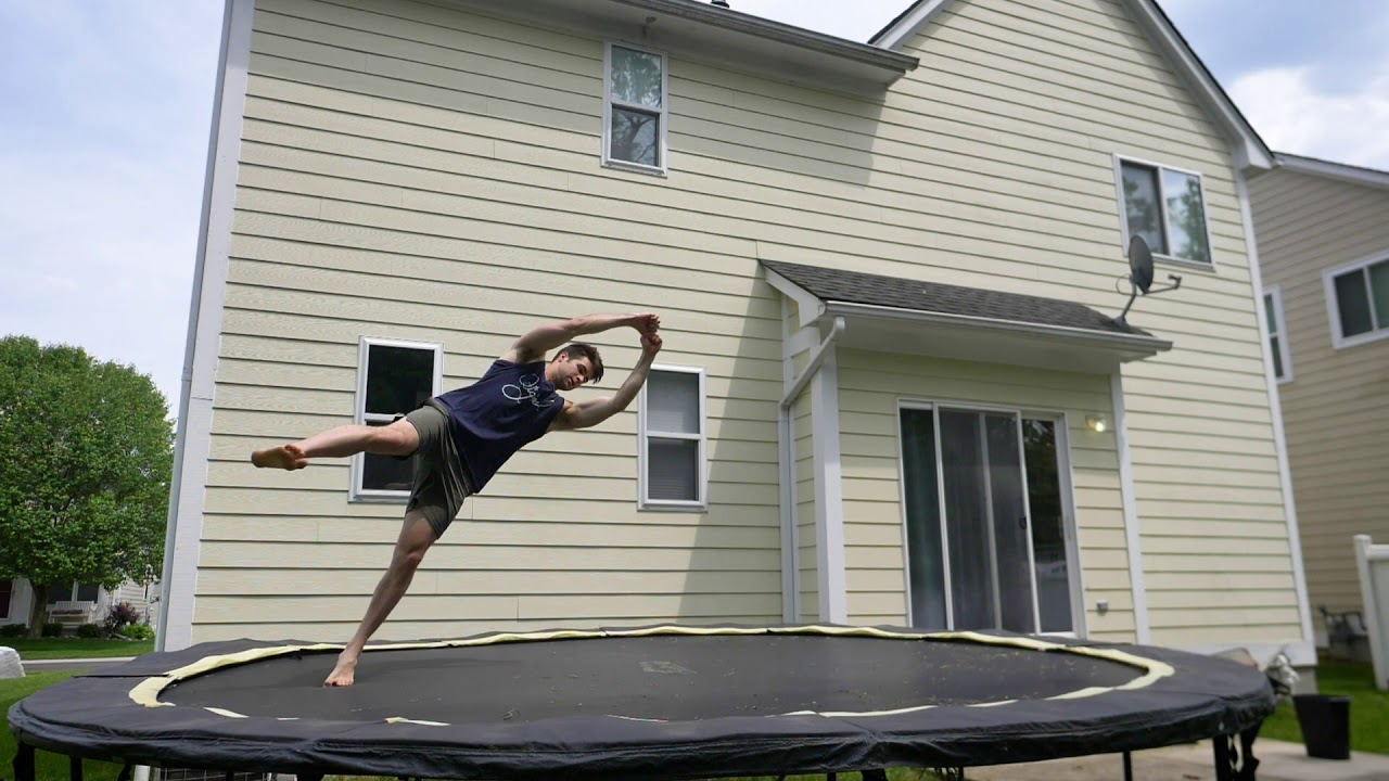 Learn to Cork On Trampoline Can Be So Easy – 360 Sideways Progression