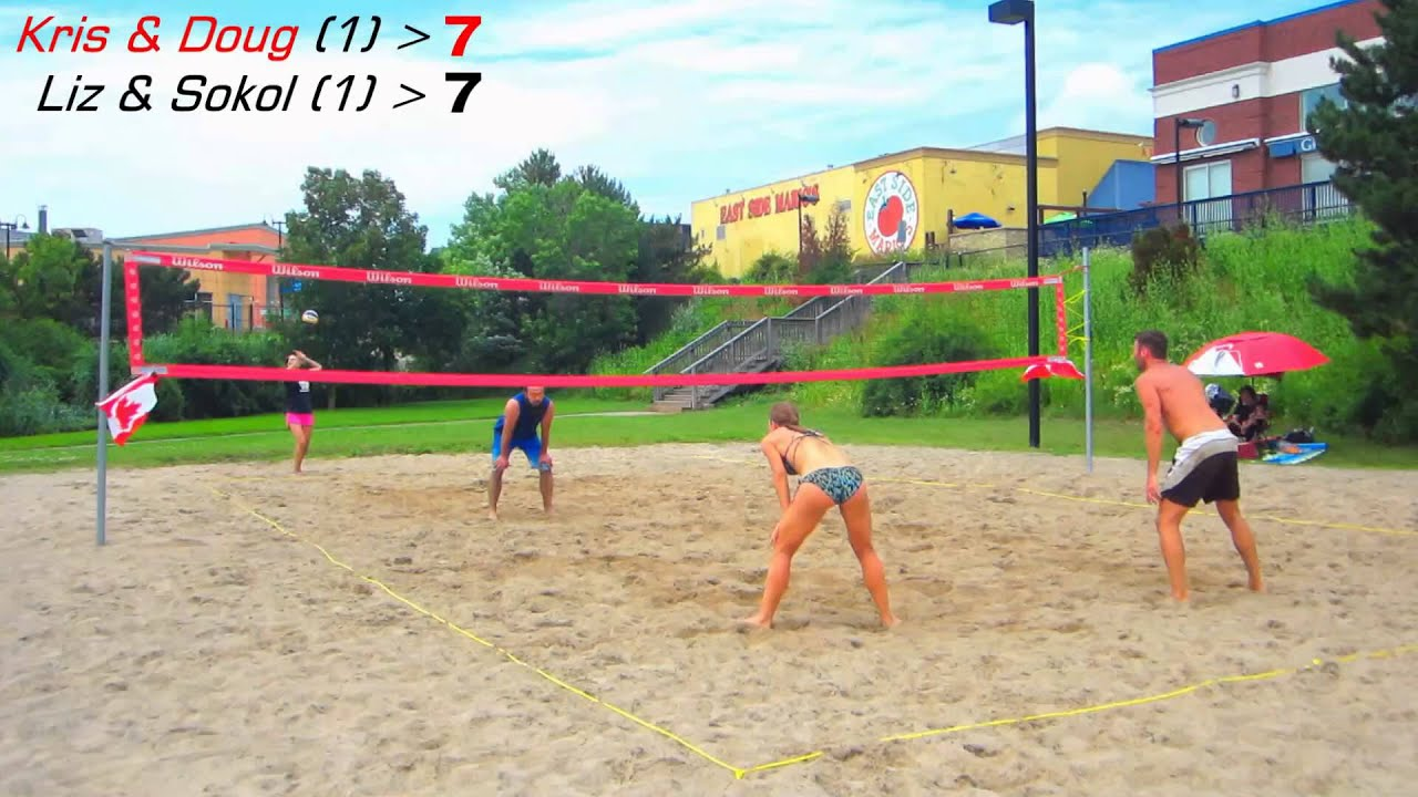 Beach volleyball oakville