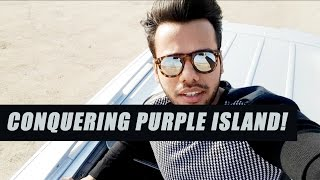 CONQUERING PURPLE ISLAND!!