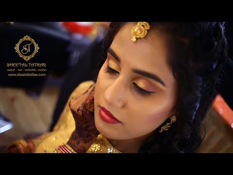 Makeup Tutorial l Makeup Artist Course in Pune | bridal makeup | Engagement Makeup by Sheetal Tatkar