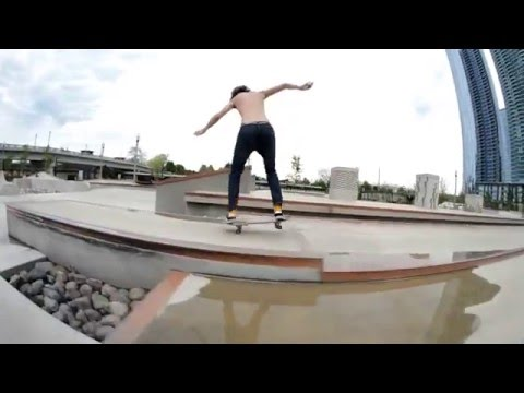 Grant Park Skatepark, Day Edit 2016 - Chicago Illinois