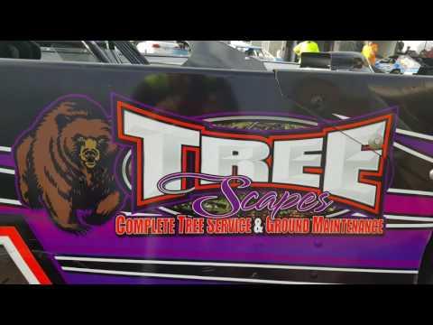 #122 Matt Shockley - Sportsman - 7-2-17 Tazewell Speedway - In-Car Camera