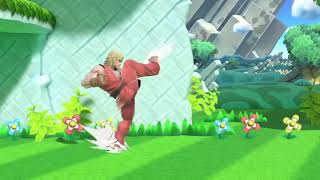 Ken Moveset in Smash Bros. Ultimate