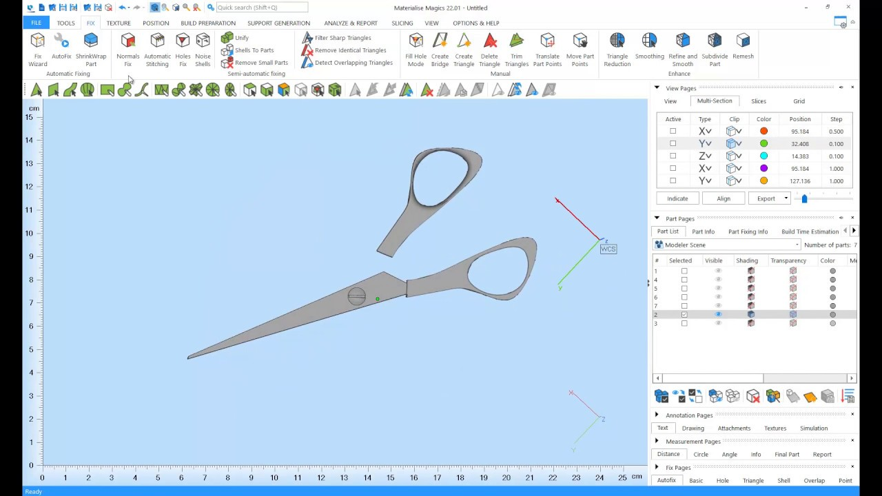 Tutorial: How to edit 3D models in Materialise Magics
